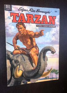 TARZAN #60 (Dell Comics 1954) -- Golden Age -- VG+