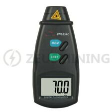 Non-contact laser speedometer, speed test, 2.5-99999RPM