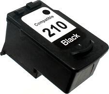 1PK FOR CANON PG-210 PG210 PG 210 2974B001 BLACK PIXMA MP250 MP270 MP280 MP480