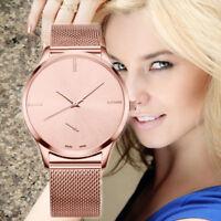 Damenuhr Herren Uhr Edelstahl Armband Quarz Analog Armbanduhren Paar-Watches