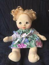 My Child Doll Blonde Hazel Brown eyes Mattel 85 vintage curly hair