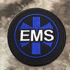 Round Star of Life EMT Patch