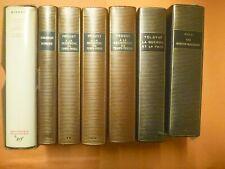 Lot de 7 ouvrages de la Pléiade - Proust, Malraux - livres anciens de collection