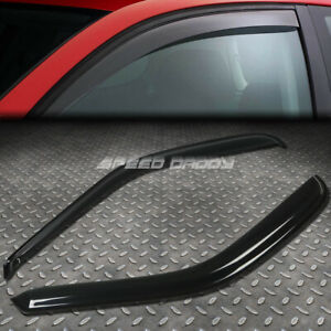 FOR 97-04 F150 REG/EXT/SUPER SMOKE WINDOW VISOR/WIND DEFLECTOR VENT RAIN GUARD