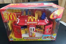 RARE Mcdonalds Restaurant Carry-Along Play Set w/ Accessories 2003 Play Place