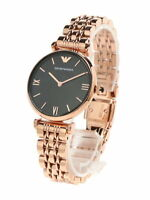 NEW AUTHENTIC EMPORIO ARMANI AR11145 ROSE GOLD MOTHER OF PEARL WOMEN WATCH UK