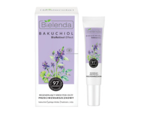 Bielenda Bakuchiol BioRetinol Effect Anti-wrinkle Regenerating Eye Cream 15ml