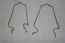 Röhrenbefestigungs-Klammern für ECLL800 Röhren (Paar) - Grundig Stereomeister 35