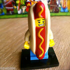 LEGO 71008 Minifigures HOT DOG MAN #14 Series 13 SEALED Minifigs Guy Mascot Bun