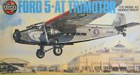 Airfix 1/72 Ford 5-AT Trimotor American A/L Type 5 Roy Cross box complete unmade