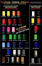 LISERET JANTE MOTO pour HONDA AUTOCOLLANT CINTAS PEGATINAS RIMS 42 colors