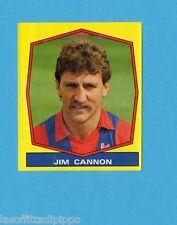 INGHILTERRA-FOOTBALL 88-PANINI-Figurina n.394- JIM CANNON -Rec