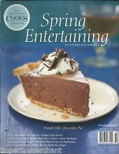 Cooks Illustrated Spring Entertaining magazine French silk chocolate pie Pasta