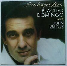 PLACIDO DOMINGO/JOHN DENVER Perhaps Love 1981 OZ CBS EX/VG+