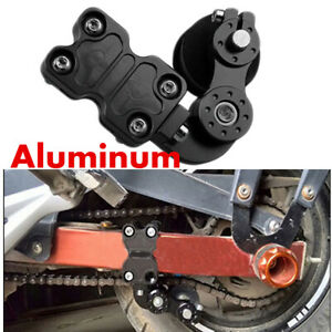 CNC Universal Chain Tensioner Black Roller Adjuster For Motorcycle Motorbike
