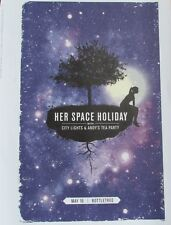 Her Space Holiday Mini Concert Poster Reprint  Concert Birmingham AL Gig  14x10