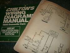 1990 dodge daytona chrysler lebaron wiring diagrams schematics manual  sheets set