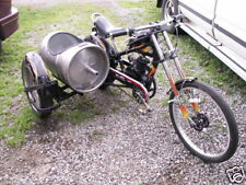 80 cc motor mount& Schwinn OCC Chopper bicycle exhaust  and free chain adjusters