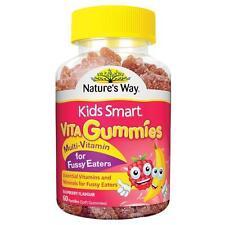 Nature's Way Kids Smart Vita Gummies Multivitamin Minerals for Fussy Eaters