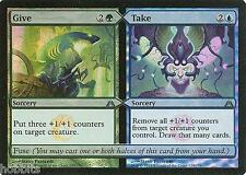 MTG - Dragon's Maze - Give / Take - Foil - NM