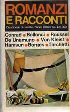 ROMANZI E RACCONTI-N° 4 SADEA-ROUSSEL-BORGES-CONRAD