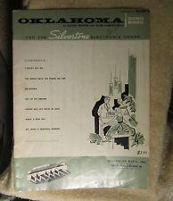 Oklahoma Silvertone Electronic Organ Sears, Roebuck Sheet Music