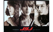 JYJ - THE BEGINNING (OFFICIAL POSTER) *HARD TUBE CASE* K-POP