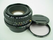 Pentax 50mm f:2 SMC Pentax-A K-Mount Manual Focus Standard Lens-Gorgeous Shape!