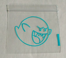 100 Blue Ghost, Boo Mario Brothers 2x2 Small Mini Ziplock Baggies 2020 Dime Bags