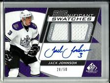 Jack Johnson 08/09 SPGU Autograph Game Used Jersey #28/50