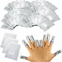 100X Entferner für Maniküre Nail Polish UV Gel Nagellack Remover  Wraps Folien
