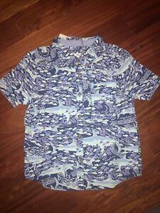 Boys (5T) Vineyard Vines for Target School of Sharks Button-Down Shirt