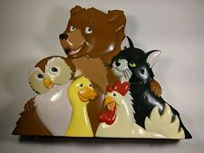 """Maurice Sendak's Little Bear Toy Case 14"""" Collectible with playdough molds"""