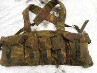 genuine ISSUE british army sas UK DPM IRR NI PLCE CHEST WEBBING RIG HARNESS sas