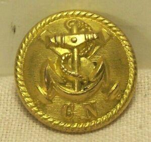 1862~CIVIL WAR~CONFEDERATE NAVY OFFICER UNIFORM BUTTON~C.N~COURTNEY & TENNET~7/8
