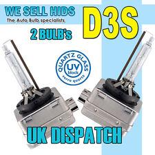 D3S 66340 4300K Bombilla de Xenón Audi A5 S5 A6 S6 Q5 Q7 S4 Volvo SAAB Jaguar Sline UK