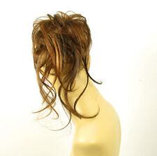 postizo coletero peruk cabello chocolate con mechas cobrizo claro ref: 22 en