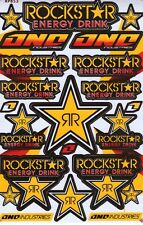 New Rockstar Energy Motocross ATV Enduro Racing Graphic stickers/decals. (st76)