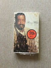 "Barry White ‎– ""Come On"" (1995) Rare Cassette Single Factory Sealed - NEW"