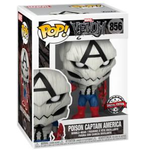 Funko Pop Marvel's Poison Captain America Figure SPECIAL EDITION