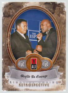 Muhammad Ali 2011 Ringside Boxing 2 Retrospective Profile In Courage 9/10 #32