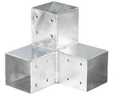 Mettal-Holzverbinder Eckmodell für Balken 90 x 90  mm Pfostenecke Pfosten