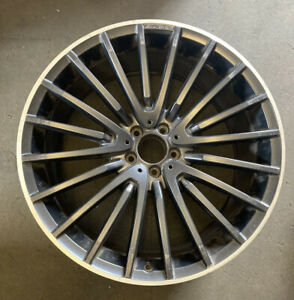 Mercedes GLE GLS M Class X166 W166 AMG Single Alloy Wheel A1664013300 10.5Jx22H2
