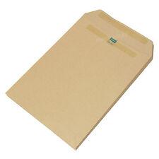 25 x C5 Envelopes Manilla Plain 115gsm Self Seal Strong A5 Brown Envelope Pack