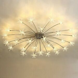 Modern Meteor Glass Dandelion LED Chandelier Pendant Lamp Ceiling Lighting Light