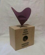 Vitra PANTON Miniature 1/6 scale PURPLE Heart Shaped Cone Chair UK Seller
