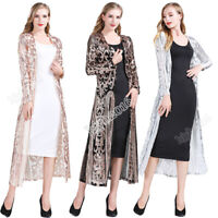 Women Sequin Open Front Long Sleeve Club Cardigan for Evening Prom Party Coat