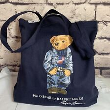Polo Ralph Lauren Polo Bear Canvas Tote Bag Special Edition