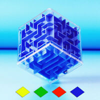 3D Maze Magic Cube Labyrinth Rolling Puzzle Game Twist Toy Brain Teaser Kid Gift