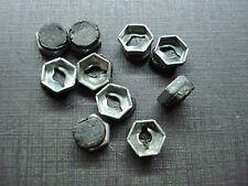 "10 pcs NOS 1/8"" emblem name plate letter nuts with mastic sealer fits GM"